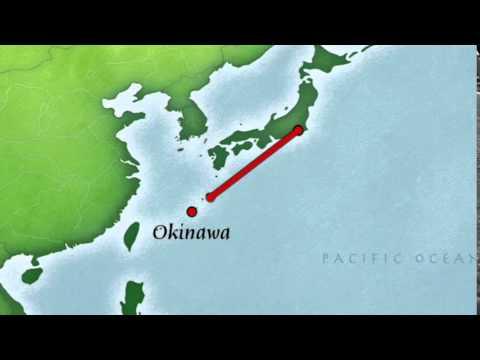 Flight Tokyo to Okinawa