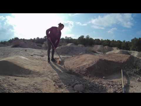 Building a BMX jump