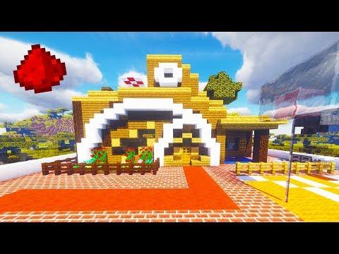 Minecraft - REDSTONE SMARTHOUSE (w/ 20+ Redstone Creations)