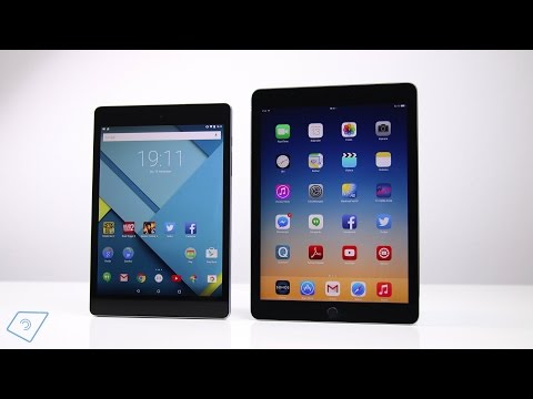 Google Nexus 9 vs. Apple iPad Air 2 - Vergleich | tabtech