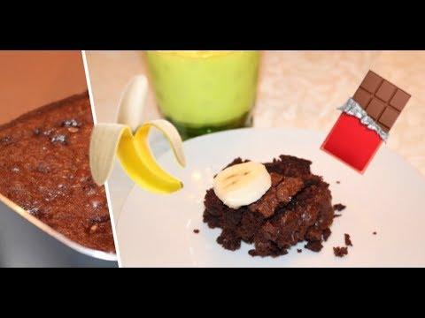 Banana-Brownie Recipe! ♡