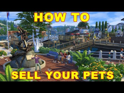 Sims 4 Cats & Dogs: How to Sell Your Pet
