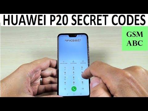 SECRET CODES Huawei P20, Lite & Pro