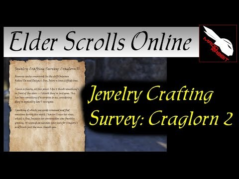 Jewelry Crafting Survey: Craglorn 2 [Elder Scrolls Online] ESO