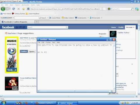 How to Unblock Applications On Facebook