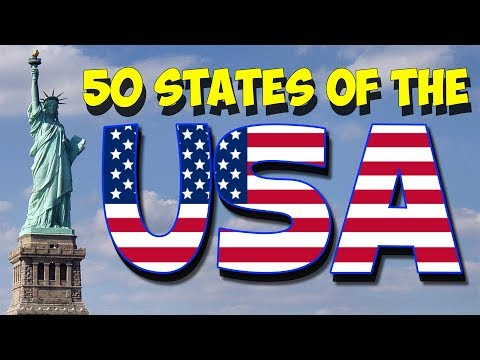 50 States of the USA Song