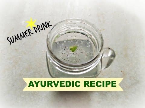Refreshing Summer drink | Ayurvedic Recipe