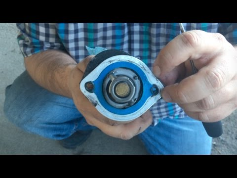 How to change a thermostat | Dodge Grand Caravan