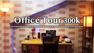 Office Tour/Behind The Scenes  300k!