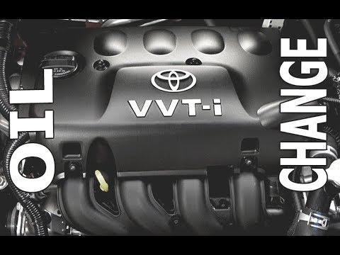 Toyota Yaris oil change