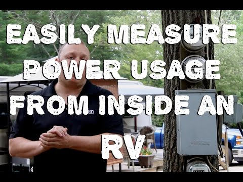 Tracking Power Consumption Easily From Inside Your RV and Home