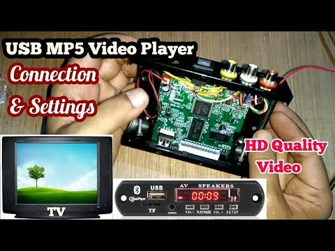 Xxx Mp4 MP5 Audio Video USB Panel Kit Wire Connection Details Home Made TF Or Micro SD Card Video Player 3gp Sex