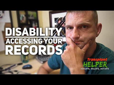 Getting Your Medical Records | Access Your Disability