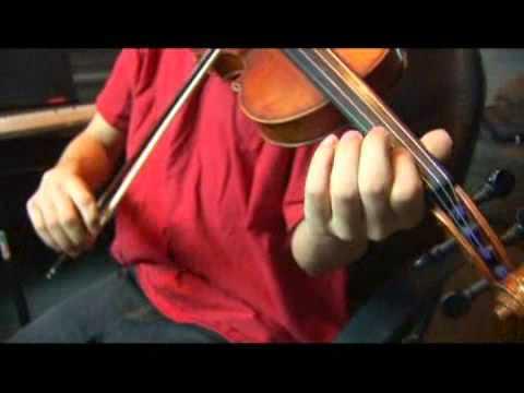 Violin B Harmonic Minor Scale: 7th Scale Degree