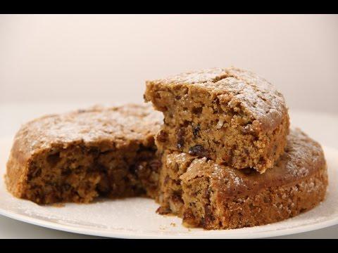 Eggless Date & Walnut Cake | Cooksmart | Sanjeev Kapoor Khazana