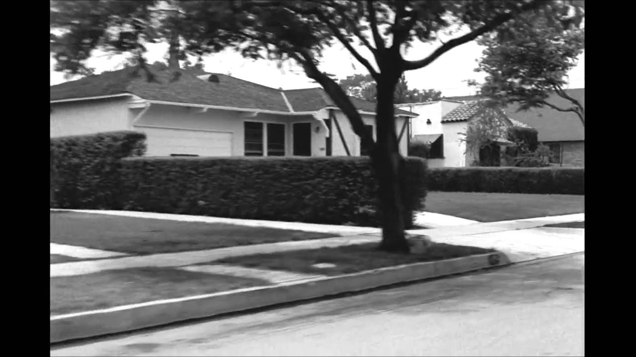 Burbank (CA) Residential Area Ride, late 1940s