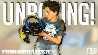 Thrustmaster T150 PRO unboxing! | Racing wheel (PS4/PS3/PC)