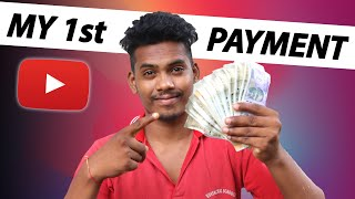 My First Payment From Youtube   My First Youtube Earnings   1000 Views How Much Money on youtube
