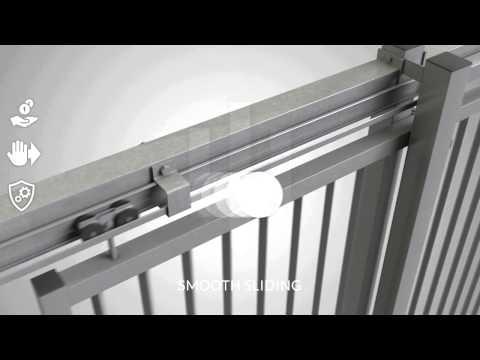 Ugglan Manual Sliding Gate - Demex AB