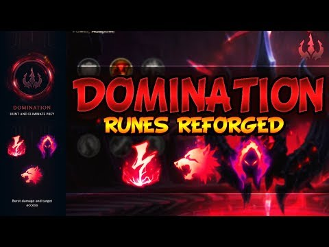 Domination Guide - NEW SEASON 8 RUNES   PRO TIPS & FOR BEGINNERS - League Of Legends Runes Reforged