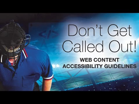 Web Content Accessibility Guidelines Explained