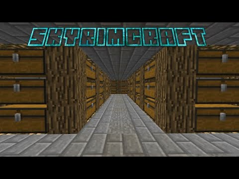 Storage Room! - SkyrimCraft Ep 3 | Minecraft Survival