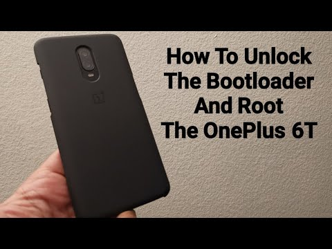 How To Unlock The Bootloader And Root The OnePlus 6T (T-mobile And Unlocked Versions)