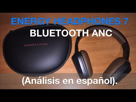 ENERGY HEADPHONES 7 BLUETOOTH ANC: Análisis en español