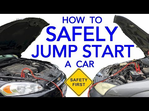 How To Safely Jump Start A Vehicle With A Dead Battery & The Correct Way To Hook Up Jumper Cables