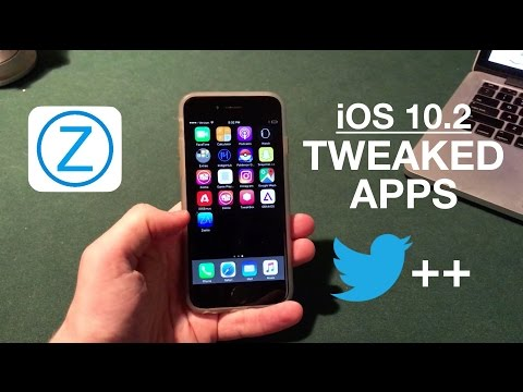 Install Jailbreak Apps Without Jailbreaking iOS 10.2: Tweaked Apps!