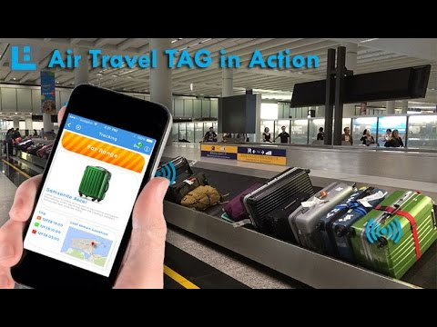 LOC8ING Luggage Tracker - Air Travel Tag