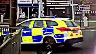 Police Car Crash - Out of Southend