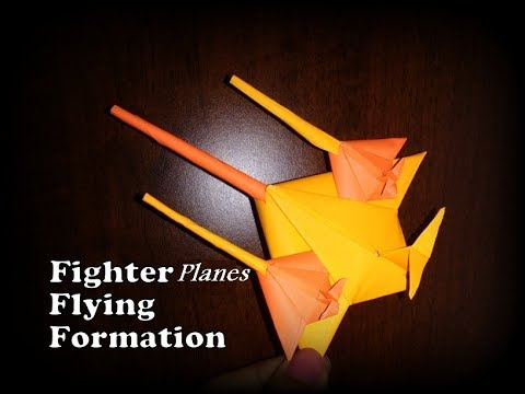 How to make a paper model of fighter plane. Simplest and quick to make.