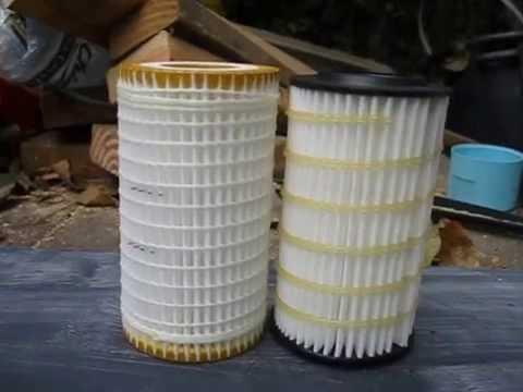 Mann vs Wix Cartridge oil filters