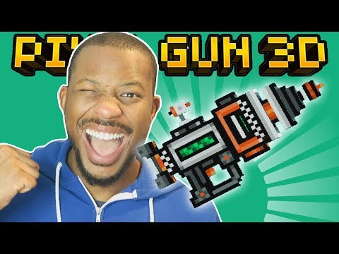 OMG! USING THE ORBITAL PISTOL! | Pixel Gun 3D