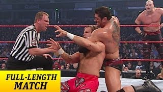 FULL-LENGTH MATCH - Raw - Goldberg, Shawn Michaels & RVD vs. Batista, Randy Orton & Kane