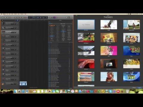 How To Import Garageband Audio Into Imovie