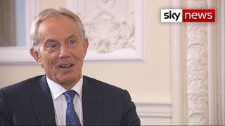 "Blair on Brexit: ""The logical thing is to go back to the people"""