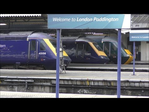 Trains at London Paddington | 21/02/18