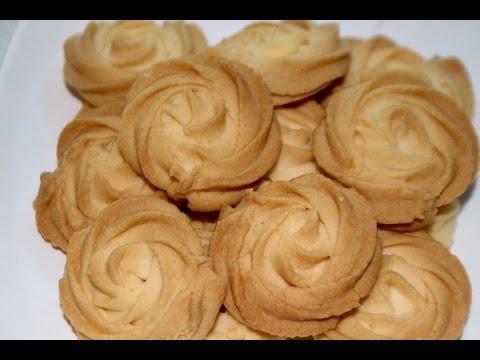cookies recipe/butter cookies/melt in your mouth cookies/eggless butter cookies-- Cooking A Dream