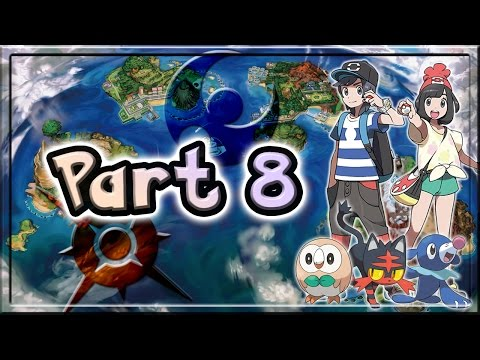 Pokemon Sun and Moon Walkthrough/Let's Play Part 8 - A Ghastly Cemetery