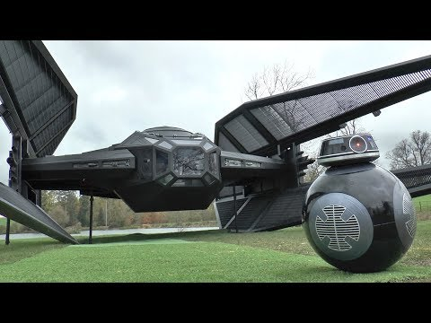I Built a FULL SIZE Tie Fighter/Silencer