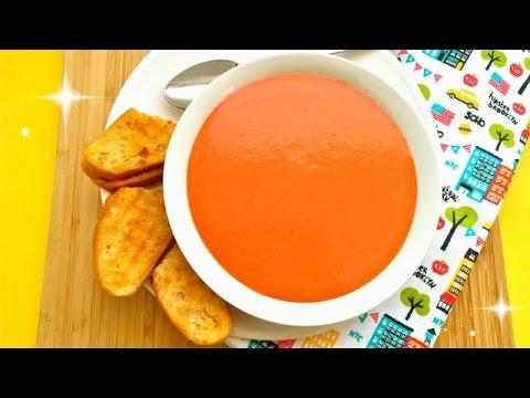 Super Easy Tomato Soup - Creamy Tomato Soup Recipe