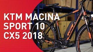 Ktm Macina Sport 10 Cx5 - 2018 - Trekking E-bike