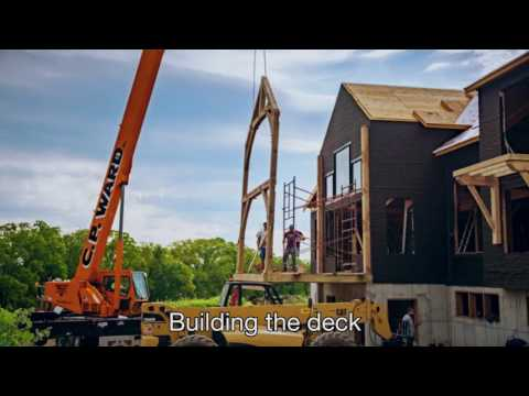 Steps to Building a Timber Frame Home Part 4: Installation of Windows and Doors
