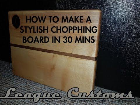 Mini Make - How to make a cutting board in 30 minutes
