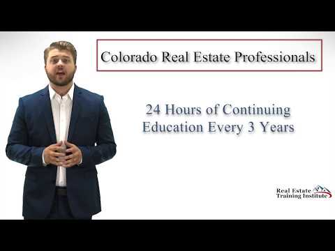 Colorado Real Estate Continuing Education