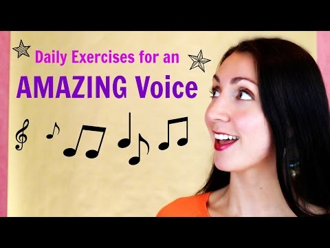 Singing: daily exercises for an AWESOME voice: Alternative 1