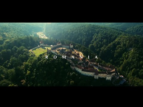 Romania: In Search of Dracula 4K Video | DJI Phantom Drone + Osmo | Aerial Footage | Vilius & Erika