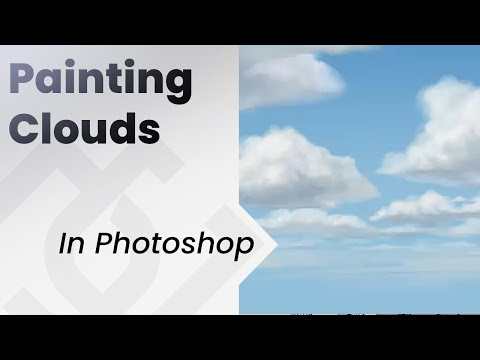 How to paint Clouds in photoshop